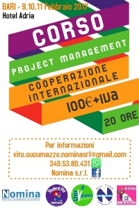 Locandina Project management Bari